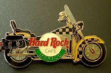 HRC Hard Rock Cafe Mexico checkered Harley Saddlebag Motorcycle LE2000