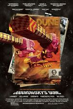 Jodorowsky's Dune movie poster : 11 x 17 inches