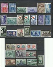 1951 ITALIA REPUBBLICA ANNATA COMPLETA 29 VALORI  NUOVI MNH**