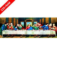 The Last Supper 5D Diamond DIY Painting Craft Embroidery Cross Stitch Home Decor