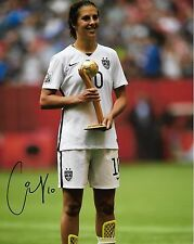 Carli Lloyd USA Women's Autographed Signed 8x10 Photo COA #2