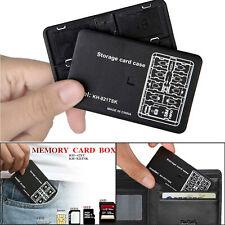 Memory Card Storage Case 24 Slots SD SDHC SDXC TF Carrying Holder Anti-Shock