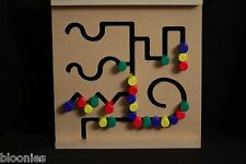 Didacticos PINOCHO Curved Sequences Pattern Wooden Color Sorting Toy