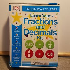 Learn Your Fractions and Decimals Kit by Carol Voderman