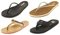 Ladies Rocket Dog Summer Holiday Toe Post Mule Sandals Shoes Size 3 4 5 6