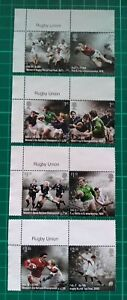 2021 150 Years of Rugby Union Set of 8 USED