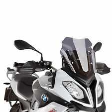 BMW S 1000 XR 2015-2018 Puig Double Bubble Airflow Wind Screen Dark Tint
