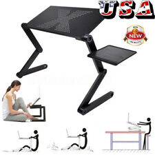360°Adjustable Folding Laptop Table Lap Desk Bed Portable Computer Tray Stand US