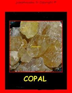 Copal  - encens en grains - protection - magie blanche - voyance - médium