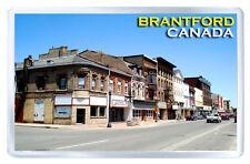 BRANTFORD ONTARIO CANADA FRIDGE MAGNET SOUVENIR IMAN NEVERA
