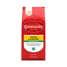 New listing Community Coffee and Chicory Decaf Medium-Dark Roast 12 Ounce (Pack of 1)