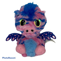💕 Hatchimals Twin Dragon Baby Blue and Pink Interactive Toy Wings works EUC D3
