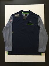 Nike Seattle Seahawks Coaches Long Sleeve Top Shirts Mens Size XXL