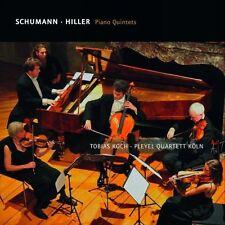 Tobias Koch - Schumann Hiller Piano Quintets [CD]