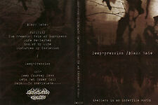 Deep-Pression / Black Hate - Split - A5 CD ltd.,DEPRI