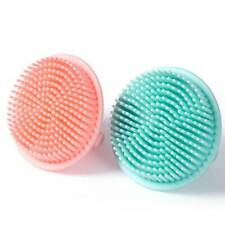 Facial Cleaning Brush Bath Brushes Baby Shower Products Silicone Bath Brush FW