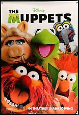 THE MUPPETS 2-Sided Bus Shelter Movie Poster 4'x6' #TheMuppets #Disney #Muppets
