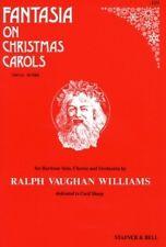 FANTASIA ON XMAS CAROLS Vaughan Williams SATB Scor