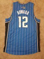Autographed Dwight Howard Orlando Magic Jersey #12 Blue