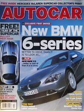 AUTOCAR 03/10/14 ALFA 156 JTD BMW 645Ci X3 ASTON MARTIN MERCEDES SLR McLAREN