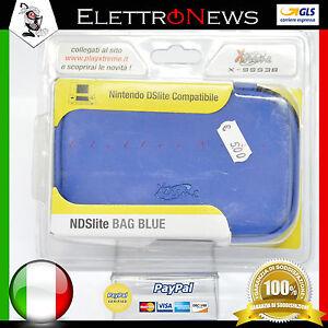 Custodia Nintendo DS LITE Colore Blu Ds lite Nuova Perfetta Antiurto