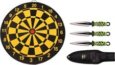 Z-Hunter 155SET Three Piece Throwing Knife Set W/ Target Board
