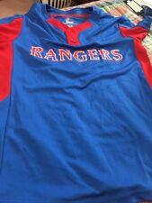 Youth Texas Rangers Majestic Cool Base Baseball Jersey Small NWOT