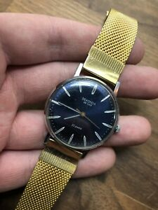 (30) VINTAGE SEKONDA DE LUXE 23 JEWELS GENTS WRISTWATCH