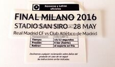 2016 rmcf vs Atletico Madrid UCL FINALE SAN SIRO SIPESA partita di calcio i dettagli