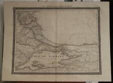 ISTANBUL SEA OF MARMARA TURKEY 1880 VANDERMAELEN WALL ANTIQUE LITHOGRAPHIC MAP
