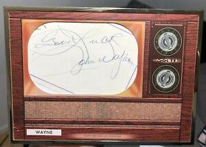 2020 Bowman Transcendent John Wayne Auto Oversized Cut Autograph 1/1
