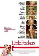 LITTLE FOCKERS Movie POSTER 27x40 Robert De Niro Jessica Alba Ben Stiller Owen