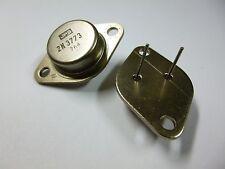 2 Stück 2N3773 NPN Transistor Metall 160V 16A TO3 LPS