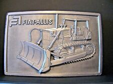 Fiat Allis Crawler Tractor Dozer Bulldozer 1978 Belt Buckle mining construction
