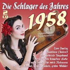 F. quinn/H. rühmann/E. Fellgiebel/p. Kuhn/+ - les succès de l'année 1958 2 CD NEUF