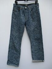 Levi 501 Jeans Exclusive Remade Vintage by WYWoL Size 31x34    A8