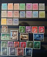 Timbres Autriche (1945) - neufs* - N°517 à 552 YT