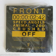 "Front 242 – off red rhino Europe – sécheresse 22 procd promo 3""-cd still sealed ✿✿✿"