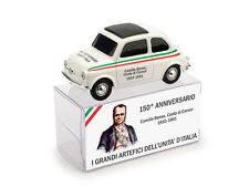 Fiat 500 Camillo Benso Conte Di Cavour 150° Unita' D'Italia 1:43 2011 Model