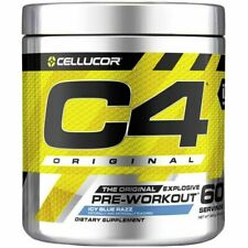 Cellucor C4 Pre-Workout Dietary Supplement, Ice Blue Razz - 390g