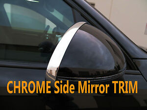 NEW Chrome Side Mirror Trim Molding Accent for acura02-12