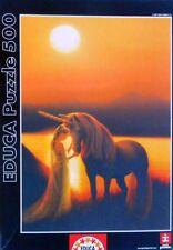 EDUCA Enchanted Evening 500 PCS Puzzle Kirk Reinert #13411 Unicorn Fantasy *LN*
