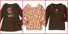 Gymboree NWT Kids Girls Tops, Long Sleeve Vests, Sweats 100% Cotton (4-12 Years)