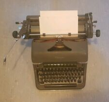 Old German Typerwriter - Olympia SG 1 Typewriter - 1953