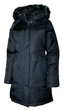North Face Womens TNF Black Dryvent Artic Parka Coat Jacket Sz Medium M 7471-3