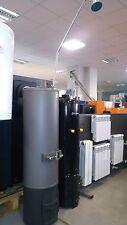 Solid Fuel Water Heater Floor Mount Vertical Wood Burning Boiler SILISTRA 80 Ltr