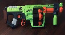 NERF Doominator Zombie Strike Dart Gun Tested Works Great! multi barrel 24 round