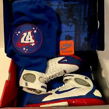 Nike Air Zoom Huarache 2k4 Sz 10.5 All Star Game ASG 2004 White Blue Red OG Iv V