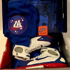 Nike Air Zoom Huarache 2k4 Sz 10.5 All Star Game ASG 2004 White Blue Red OG Iv V
