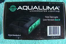 Aqualuma Green Underwater Trim Tab Light Gen 2.